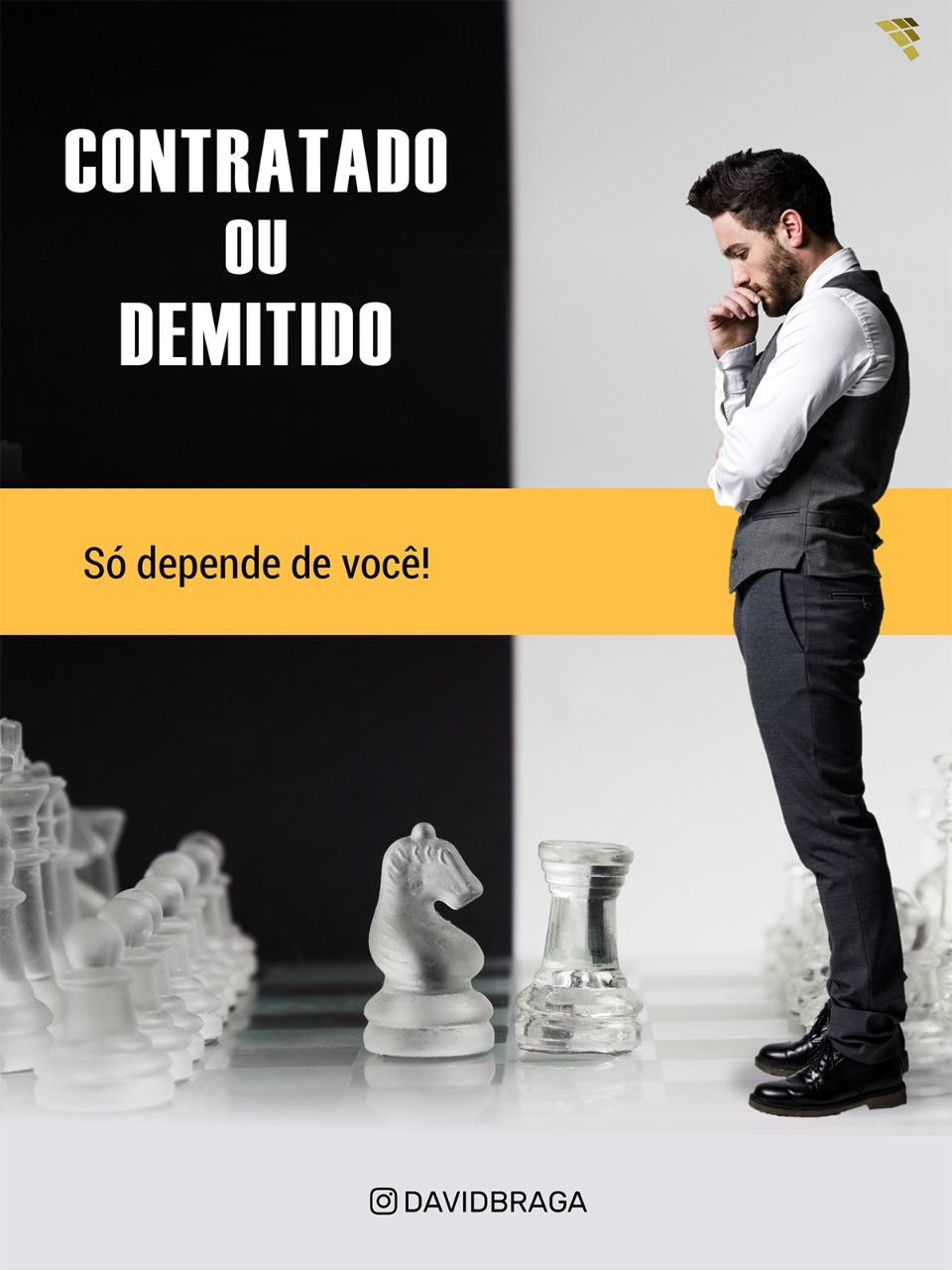 Capa do livro - David Braga